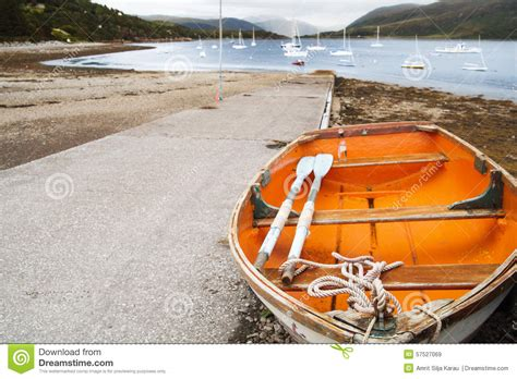 Orange Boat by Orange Boat Stock Photo Image 57527069