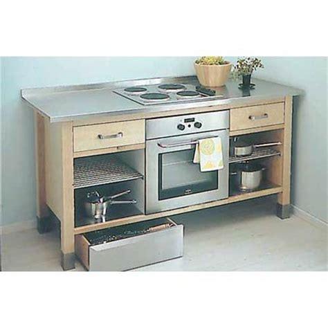 meuble de cuisine pour four meuble pour four encastrable et table de cuisson meuble