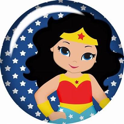 Wonder Woman Clipart Mujer Maravilla Superhero Mulher