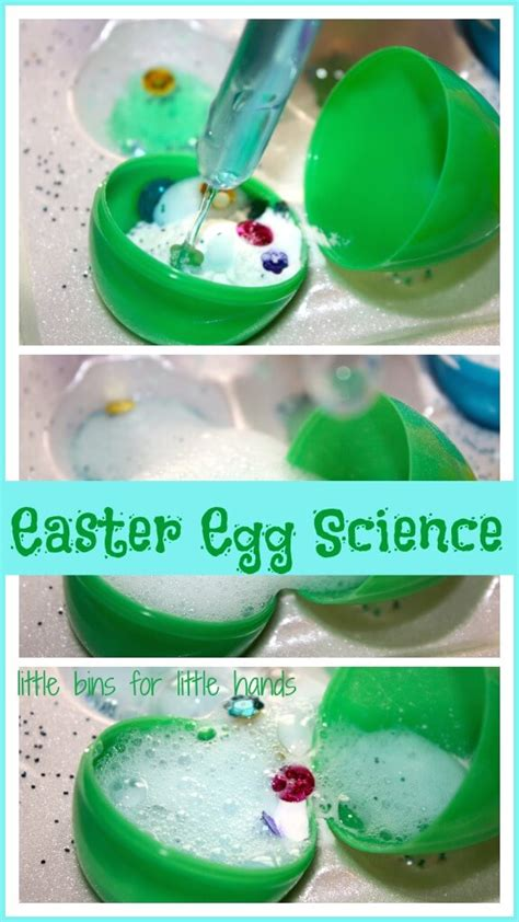 easter early learning ideas for on play 167 | Easter Egg Baking Soda Science Activity