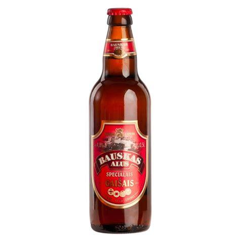 Bauskas light Specialty beer, 4.8% - Alcoholic drinks ...