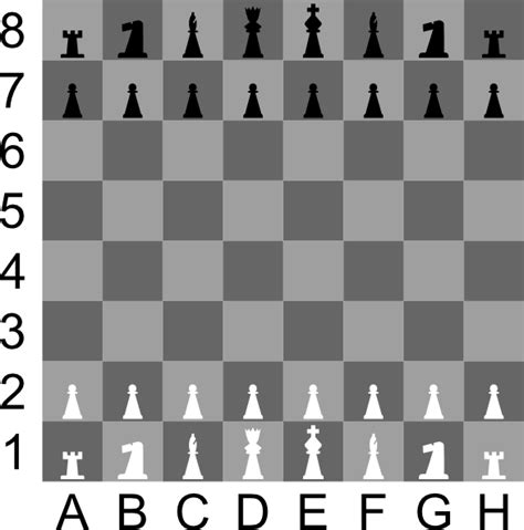 chess layout chessboard clip art at clker com vector clip art online royalty free public domain