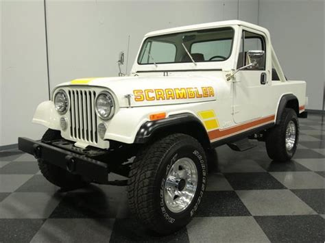 scrambler jeep years classifieds for classic jeep cj8 scrambler 12 available