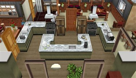 cool sims 3 kitchen ideas 38 best images about sims freeplay house ideas on