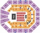 Matthew Knight Arena Seating Chart & Maps - Eugene