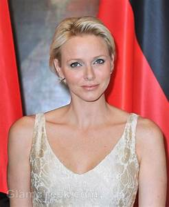 Princess Charlene Dazzles in Gold Gown at Gala Dinner