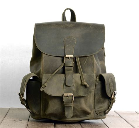 vintage leather backpack womens leather backpack bagswish