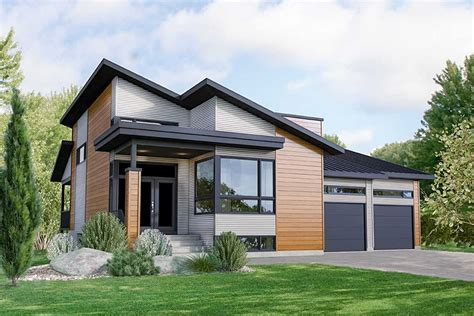 plan pm modern  bed house plan   car garage   home plans garage house
