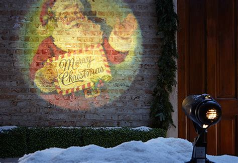 superbright projector with holiday slides sharper image