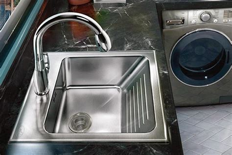 laundry sink with washboard stainless steel laundry sink with washboard sinks ideas