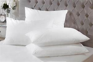 4 pack luxurious goose feather down hotel quality for Comfort inn hotel pillows