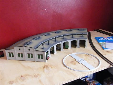 Tidmouth Sheds Wooden Turntable by The World Of The Tank Engine Modelling Proposed