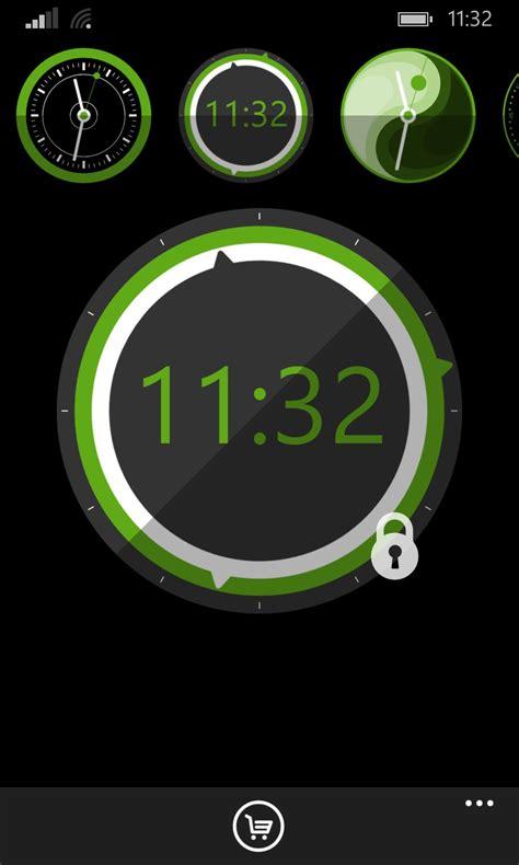 perfect clock  nokia lumia     soft  windows phone smartphones