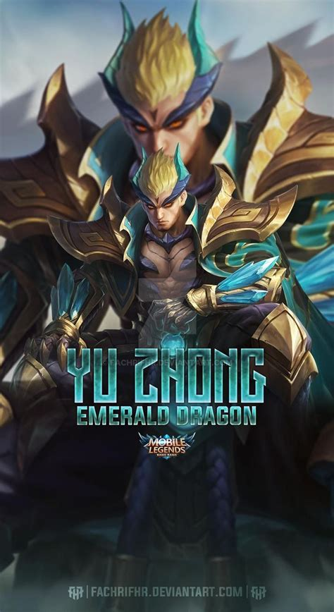 yu zhong emerald dragon  fachrifhr  deviantart