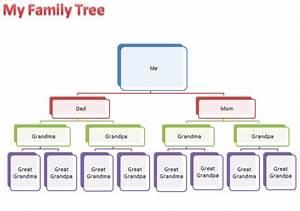 Family Tree Templates Word