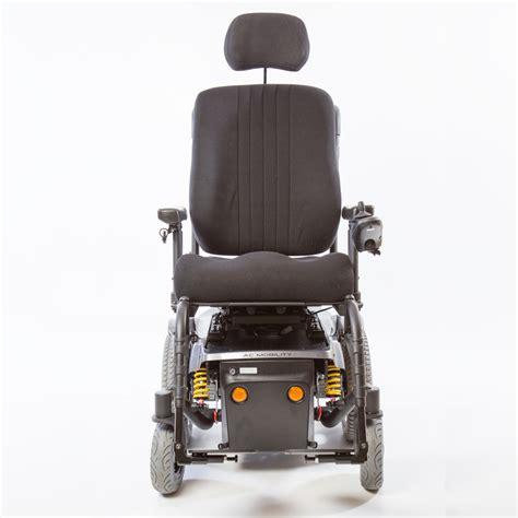 atigra 2 power wheelchair mid wheel drive ac mobility
