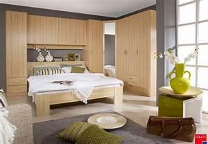 deco chambre lit pont With chambre a coucher en coin