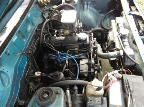 Datsun 210 Transmission by 1980 Nissan Datsun 210 A15 Engine 5 Speed Transmission No