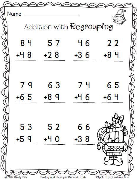 Christmas Freebieprint And Go  Free Educational Resources For Teachers  2nd Grade Math