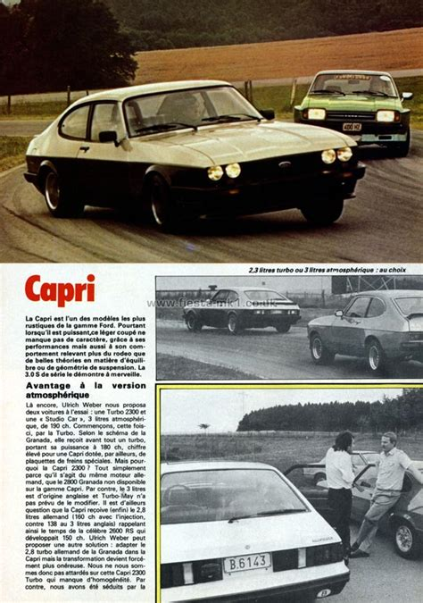 ford fiesta mk magazine articles fr auto hebdo road
