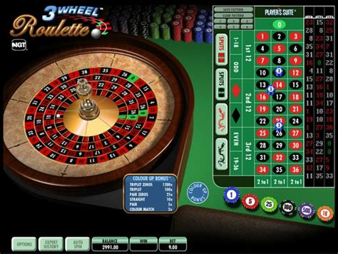 3 Wheel Roulette By Igt (roulette) Review By Casinozclub
