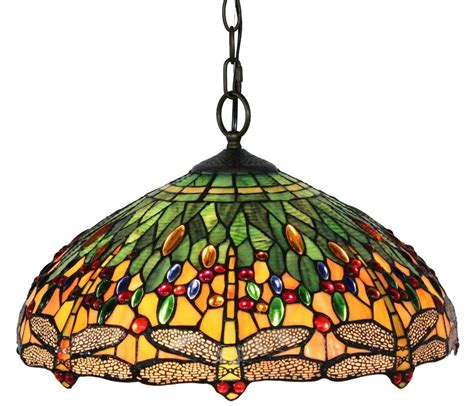 tiffany style lava l tiffany style dragonfly hanging l 18 inches