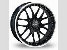 Breyton Race GTP 5x120 Wider Rear Black Polished 21
