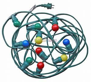 Guirlande Electrique Exterieur : guirlande lumineuse guinguette ~ Melissatoandfro.com Idées de Décoration
