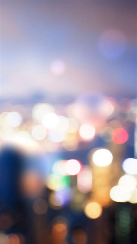 bokeh city lights iphone  wallpaper ipod wallpaper hd
