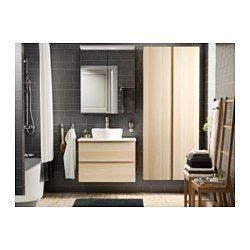 Bad Vorhänge Ikea : godmorgon hochschrank eicheneffekt wei lasiert eiche wei lasiert 40x30x192 cm ikea bad ~ Eleganceandgraceweddings.com Haus und Dekorationen