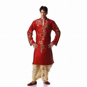 Tenue Blanche Homme : tenue indienne orientale rouge et dor e ~ Melissatoandfro.com Idées de Décoration