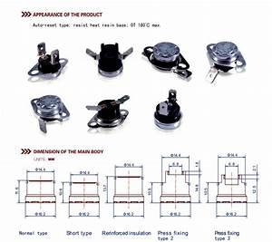 Ksd301 Termostato Bimet U00e1lico Para Dispensador De Agua