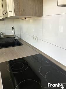 Franke Waschbecken Reinigen : gro formatige wandfliesen sind viel reinigungsfreundlicher und moderner k che k chen ~ Markanthonyermac.com Haus und Dekorationen