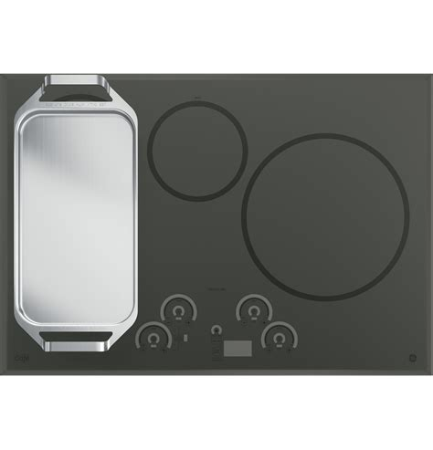 ge cafec series  built  touch control induction cooktop chpsjss  appliances