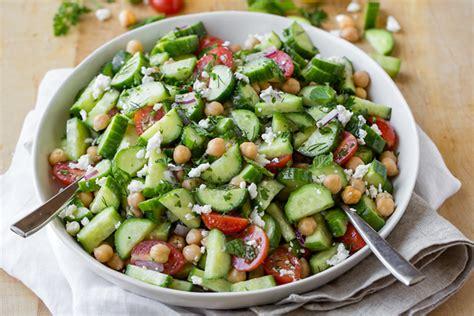 cucumber salad  cozy apron