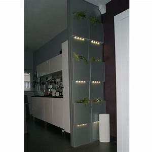 Cloison De Séparation Amovible : cloison amovible verre led ~ Melissatoandfro.com Idées de Décoration