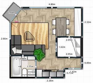 City studio/apartment renovation inspiration. 30 square ...