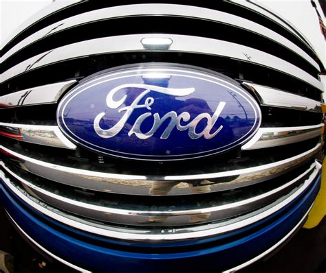 ford commercial logo a prized logo is returned to ford the new york times