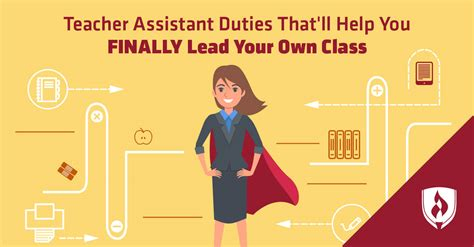 teacher assistant duties thatll   finally lead
