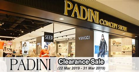 padini concept store clearance sale  march