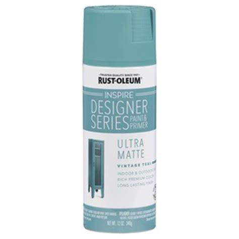 shop rust oleum inspire 12 oz vintage teal matte spray paint at lowes