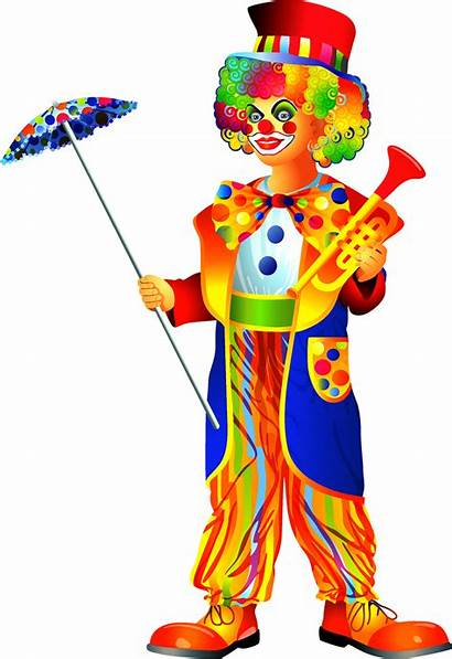 Clown Clipart Costume Circus Clowns Transparent Clip
