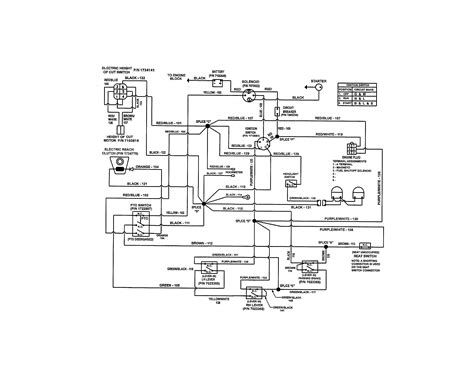 sears craftsman mower diagram engine diagram and