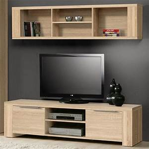 Tv Möbel Lowboard : tv m bel rucola 2 teilig sonoma eiche dekor lowboard h ngeregal schrank ~ Markanthonyermac.com Haus und Dekorationen