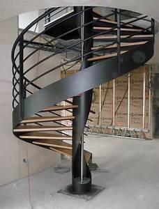 Escalier Hlicodal Sur Mesure Bo Mtal Mtallier Et