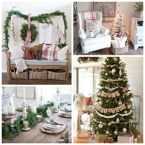 farmhouse christmas style series  happy housie