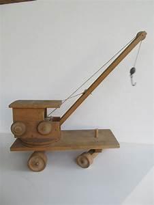 Build Wooden Toy Crane
