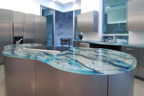 custom kitchen islands that look like furniture modern glass kitchen countertops