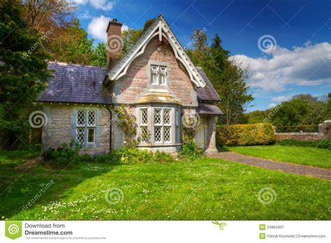 Fairy Tale Cottage House Stock Image Image Of Fairy