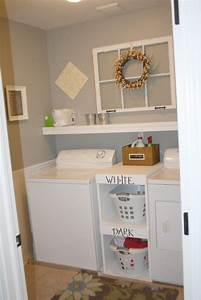 Small basement ideas simple small laundry room with for Suggested ideas for laundry room design